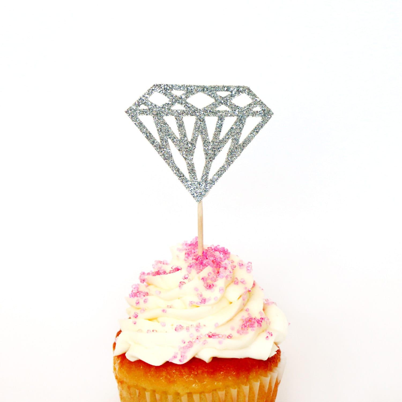 1: Cake Topper Wedding Silver Diamond Ring At Websimilar.org