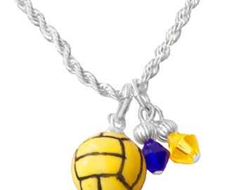 Water Polo Charm Waterpolo Team Gifts Waterpolo Charm Water Polo Team Gifts Waterpolo Gifts Waterpolo Necklace Water Polo Necklace