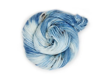 Hand Dyed Yarn - Dyed Yarn - 100% Superwash Merino - DK Weight - Ocean Waves - 200 Yards