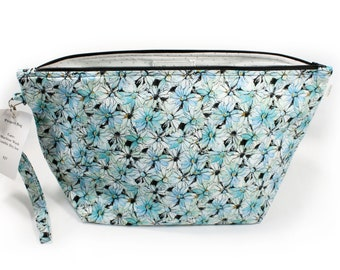 Project Bag - Knitting Project Bag - Yarn Bag - Zipper Project Bag - Daisy
