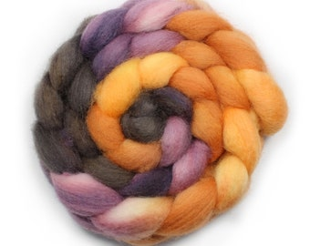 Roving - Blue Face Leicester - 4 Ounces - Song Bird