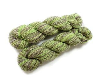 Handspun Yarn - Caterpillar  - Merino, DK Weight, 490 yards