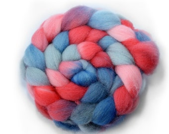 Roving - dyed roving - Shetland Wool- 4 Ounces - Crush