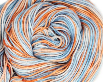 Hand Dyed Yarn - Dyed Yarn - 100% Merino - DK Weight - Coral Reef - 200 Yards