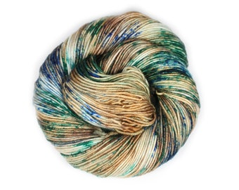 Hand Dyed Yarn - Dyed Yarn - 100% Superwash Merino - DK Weight - 200 Yards - National Forest