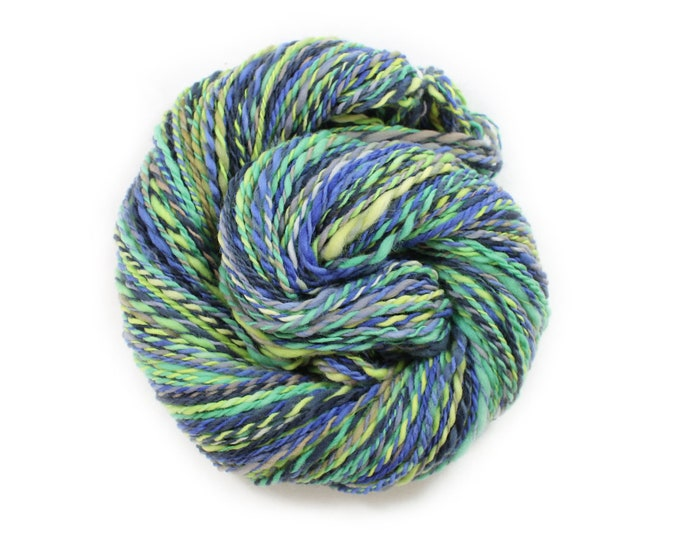Featured listing image: Handspun Yarn - Rainier - Targhee Wool - Heavy Worsted Weight, 158 Yards