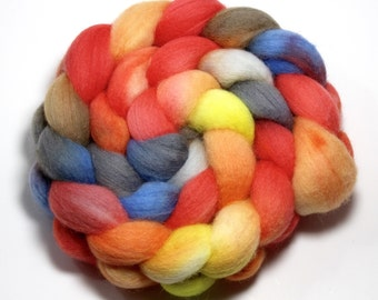Roving - Luncheon - Falkland wool, 4 ounces