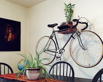 The WC Bike Shelf™ // Bike Rack // Reclaimed Wood