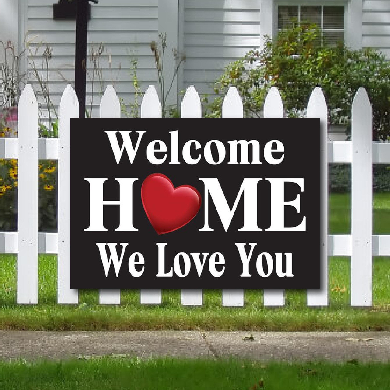 Willkommen Zuhause Banner
