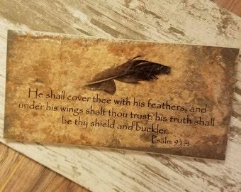Bible verse plaque | Etsy