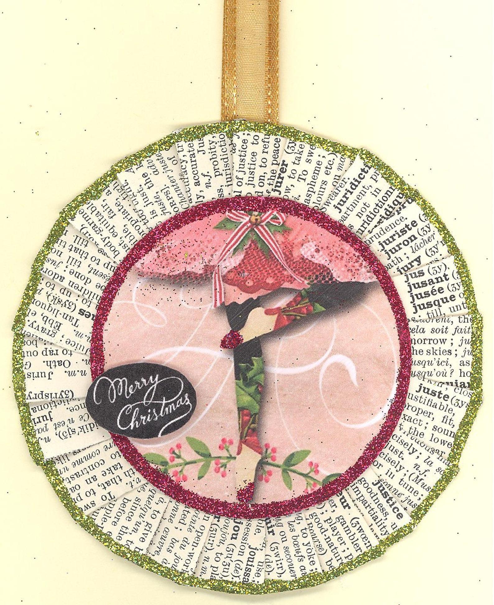 ballerina | ballet dancer | nutcracker | sugar plum fairy | christmas ornament | vintage style