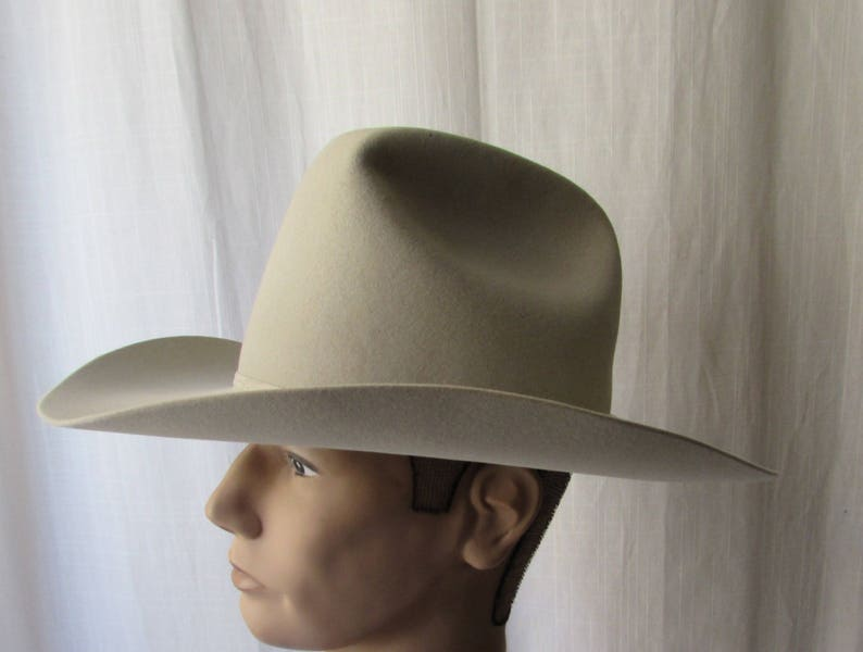 7e6de24361f RESISTOL Western Hat XXXX Beaver made in Texas USA size 7