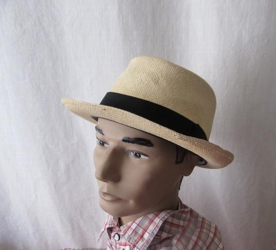 Hat STETSON - CLASSIC Pork Pie Panama Hat