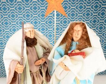 Holy Family, Mary, Joseph and Baby Jesus, Nativity, Christmas Nativity