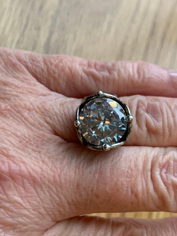 Vintage Modern Ring, 1960's Statement Ring, Modern