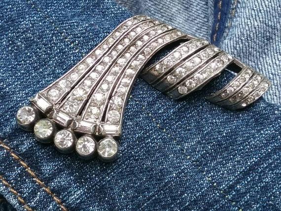 Art Deco Period Dress Clips, Art Deco Period Jewel