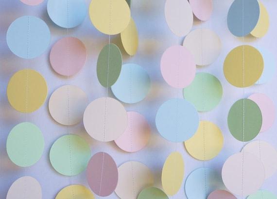 Light Pastel Baby Shower Decoration Etsy