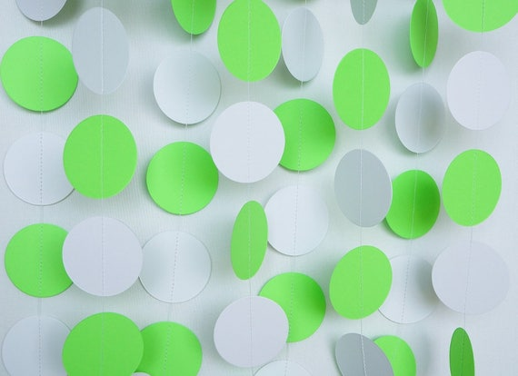 Lime Green Baby Shower Decorations  from i.etsystatic.com