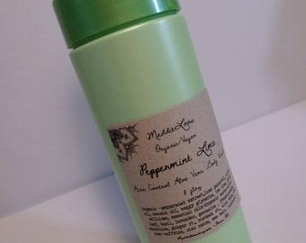 FREE SHIPPING-ORGANIC/Vegan- Rosewood & Basil Foaming Facial Wash(mild/gentle/gluten free-antioxidants-fights free radicals) 8oz.