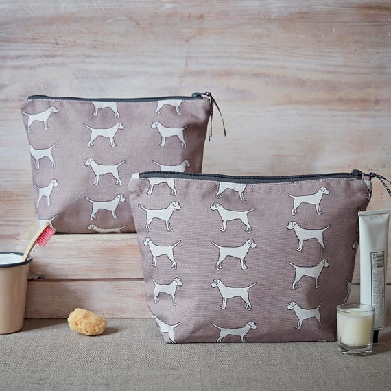 Border Terrier Wash Bag Large Toiletry Bag Cosmetic Bag