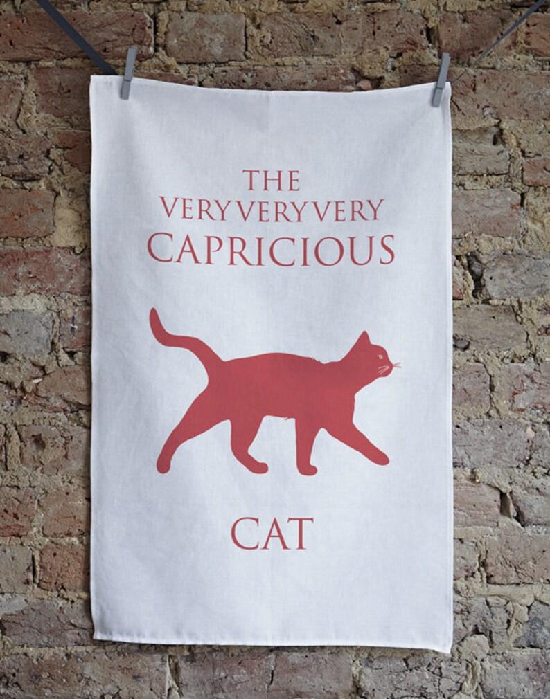 9506388f2 Toalla de té del gato gato plato paño Don gato gato | Etsy