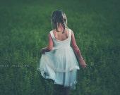 Boho Tulle Twirl  flower girl Dress