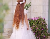 Holy communion Tulle and Lace Dress