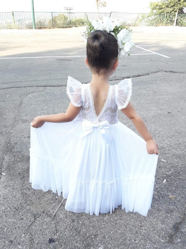 e121cb0e20e Boho Flower Girl Dress Etsy - Gomes Weine AG