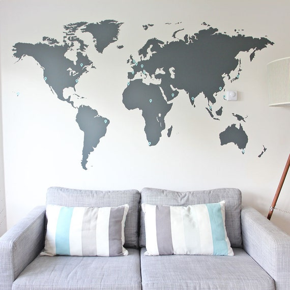 7ft x 4ft Large World Map Office vinyl Decal. Office World Map Decor.  Ft World Map Decals on world map art, world travel decal, world map engraving, world map fan, world map of the wall, world map vase, world map large size, world map magnet, world map as background, world map fuse, world map card, world map tank, world map tape, world map poster, world history decal, world globe decal, world map sleeve, world map oil, world map mirror, world map design,