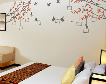 Photo Tree Vinyl Wall Sticker Life Size | 140 x 135cm / 55 x 53 inches