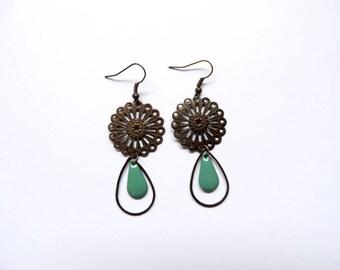 Earrings - eden (blue)