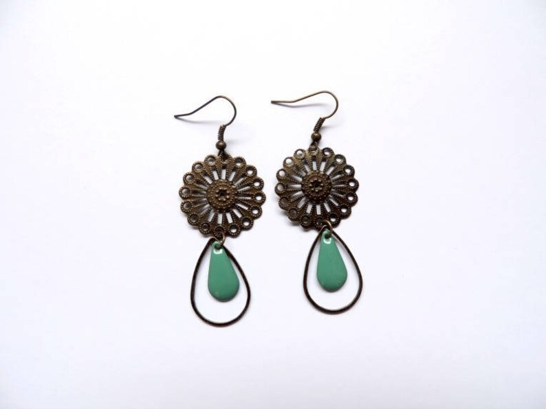 Earrings  eden blue image 0