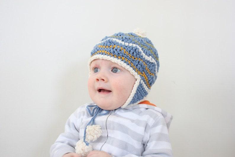 08c02daf955 Hat Pattern Crochet kids beanie crochet baby hat Kids crochey