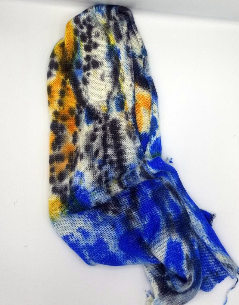 tie dyed sock blank 463 yds100g