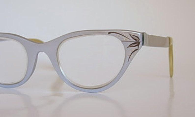 af43878b2a2f Tura Cat Eye Frames Vintage Light Blue or Silver Satin Finish