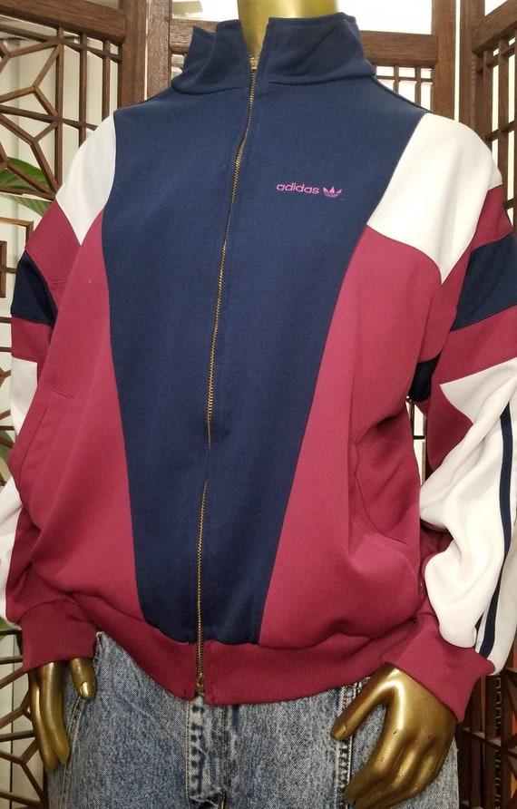 Retro Adidas Tracksuit Jacket