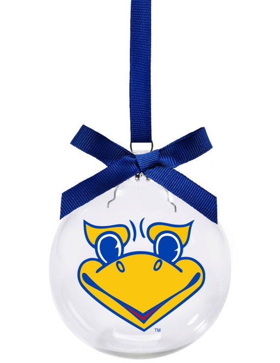 Kansas University KU Jayhawks Beak Christmas ornament - Kansas University KU Jayhawks Beak Christmas Ornament Etsy