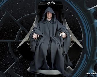 Star Wars Emperor Palpatine Black Sith Robe