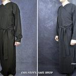 Star Wars Emperor Palpatine Raw Silk Under Robe & Sash