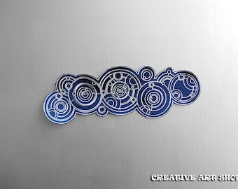 Inspired Doctor Who, Doctor in Gallifreyan  sew on Patch