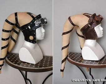 Headband for Twi'lek Lekkus with decorative rivets - Genuine or Faux Leather