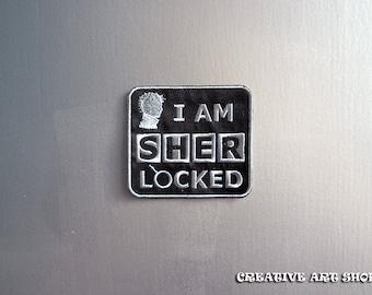 Inspired *Sherlock*, sew on Patch