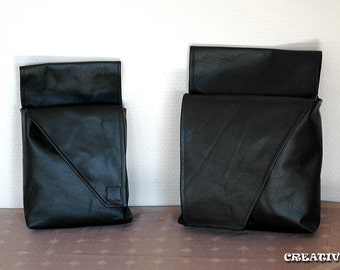 Mandalorian Bounty Hunter Genuine Leather Utility Hip Pouch