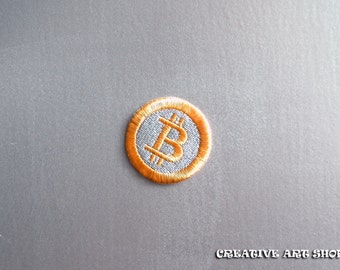 Bitcoin sew on Patch