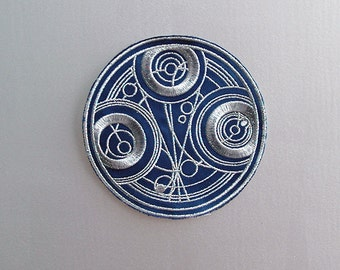 Inspired Doctor Who, Seal of Gallifrey sew/iron on Patch