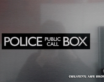 Inspired Doctor Who, *POLICE BOX* magnet