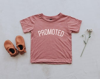 6fea7215b Promoted Mauve Baby & Kids T-Shirt • Unique Big Sister Announcement Tee •  Super Soft Modern Big Sister Pink Tri-Blend Tee • FREE SHIPPING