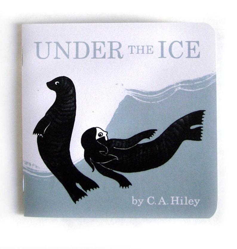Under the Ice  Selkie Comic Illustration / Scottish Folklore image 0