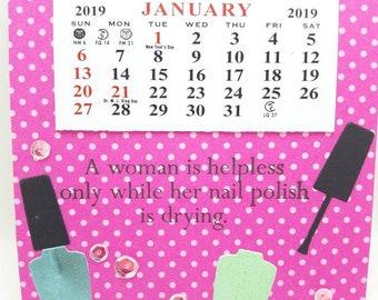 Girly Calendar Etsy