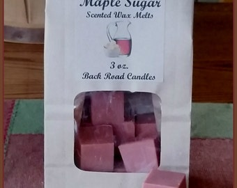 Maple Sugar Scented Wax Melts for use in Melt Warmer